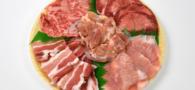 あっさり塩セット 和牛カルビ・ハラミ・トントロ・豚カルビ・トリモモがたくさん詰まったセットです。