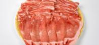 国産豚バラ・国産豚ロース 栄養満点、国産豚がたっぷり入ってます。